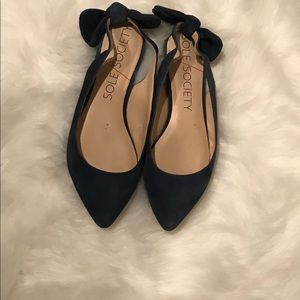 Sole Society  Morganne Suede Flats